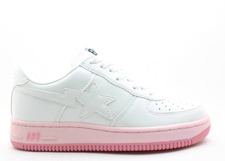 Bapesta FS-001 Low 'White Pink'