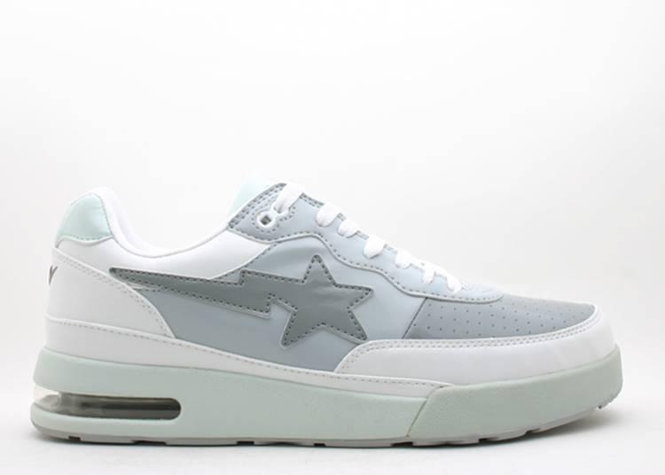 Bapesta FS-034 Low 'Gray White'