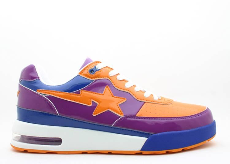 Bapesta FS-034 Low 'Purple Orange'