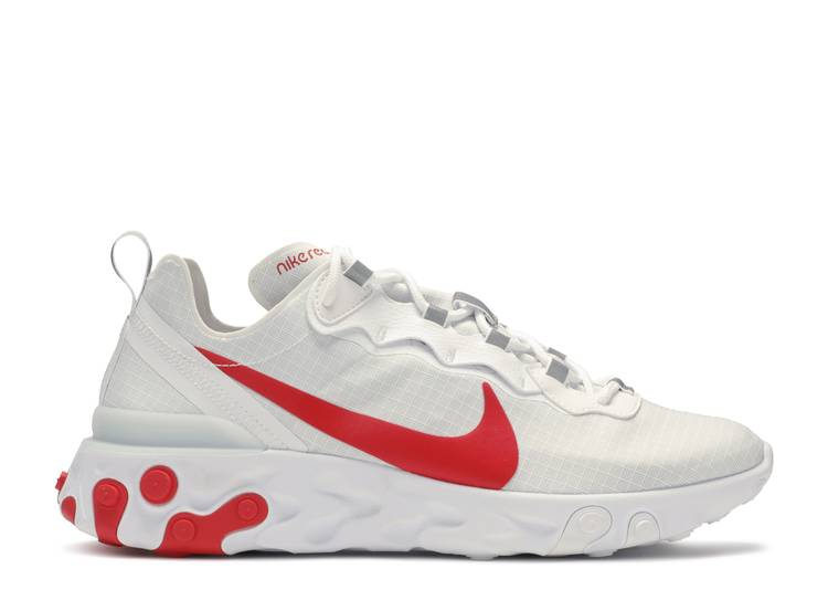 React Element 55 'White University Red'