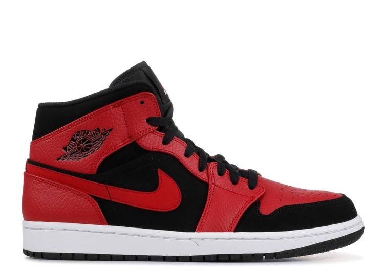 Air Jordan 1 Mid 'Bred'