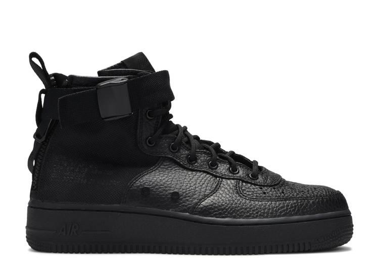 Nike SF Air Force 1 Mid Triple Black