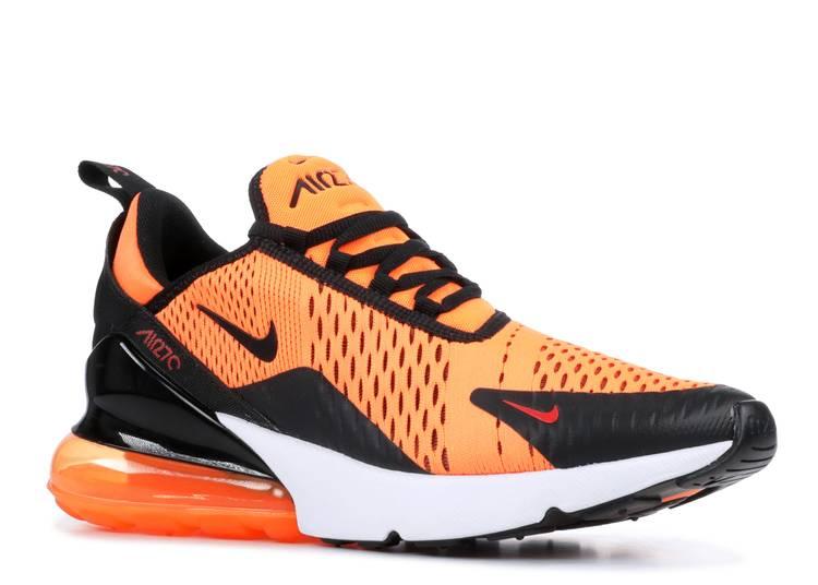 Nike Air Max 270 Total Orange SF Giants Black White San Francisco BV2517-800