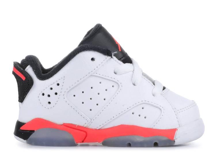 Jordan 6 Retro Low BT 'White Infrared'