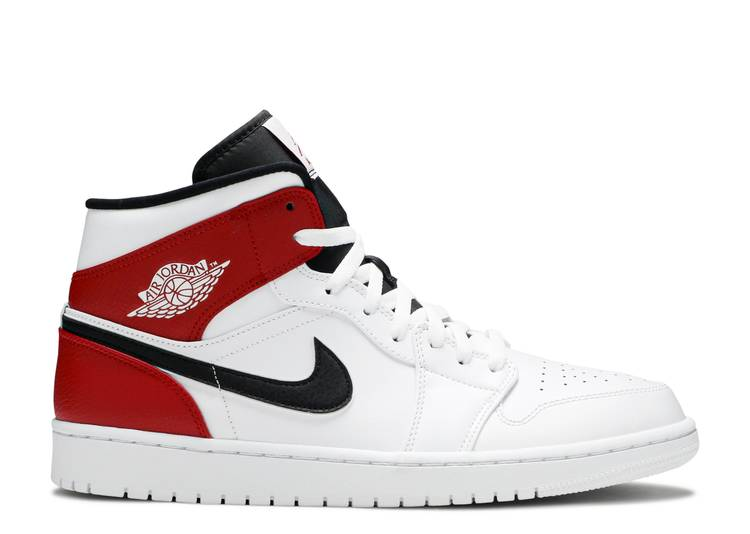 Air Jordan 1 Mid 'White Chicago'