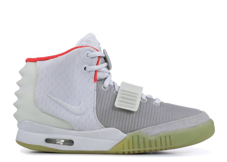 "air yeezy 2 nrg ""platinum sample"""