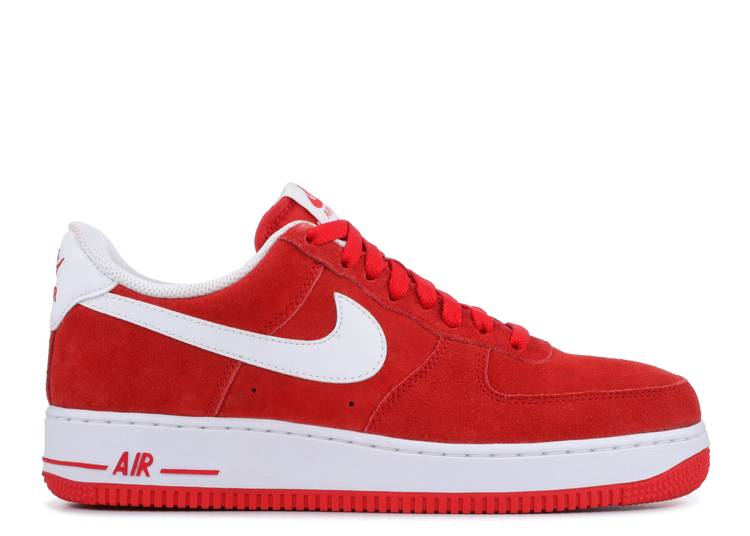 """air force one 07 """"University Red"""""""