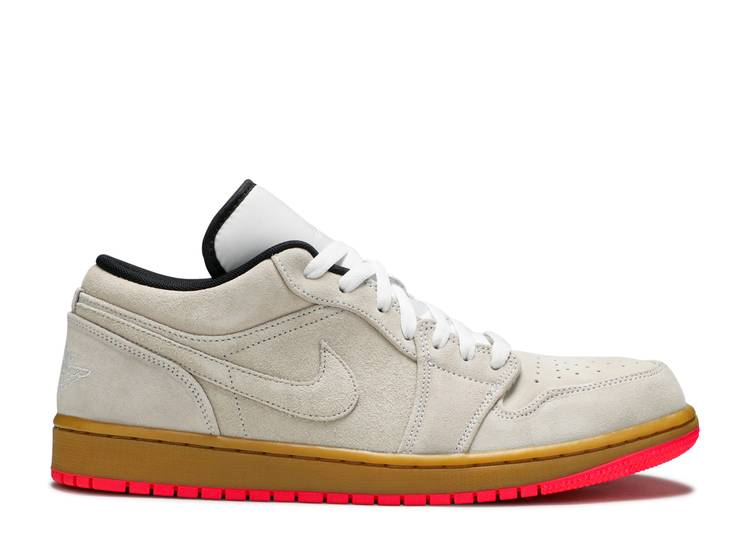 Air Jordan 1 Low 'White Gym Yellow'