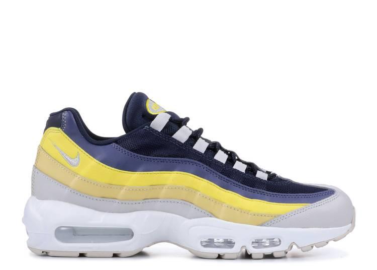 Nike Air Max 95 Lemon Wash White Vast Grey Tour Yellow 749766-107