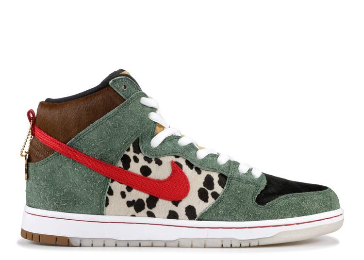 nike sb dunk high pro qs 'Walk The Dog'