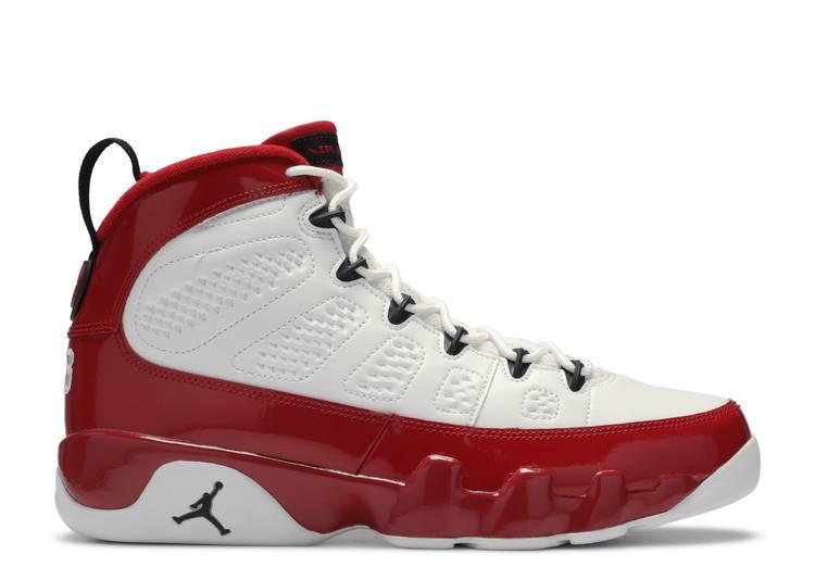 "air jordan 9 retro ""gym red"""