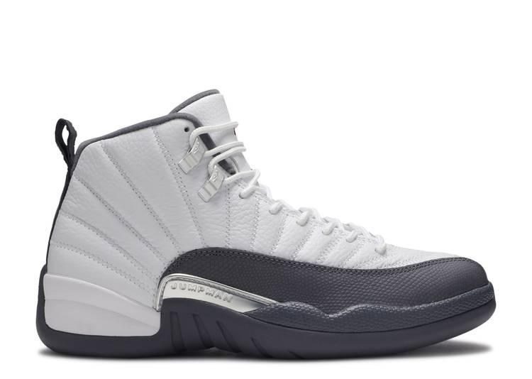 "air jordan 12 retro ""White Grey"""