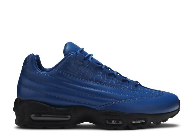 Viaje Fuente Borde  Supreme X Air Max 95 Lux 'Hyper Cobalt' - Nike - CI0999 400 - hyper  cobalt/hyper cobalt-black | Flight Club