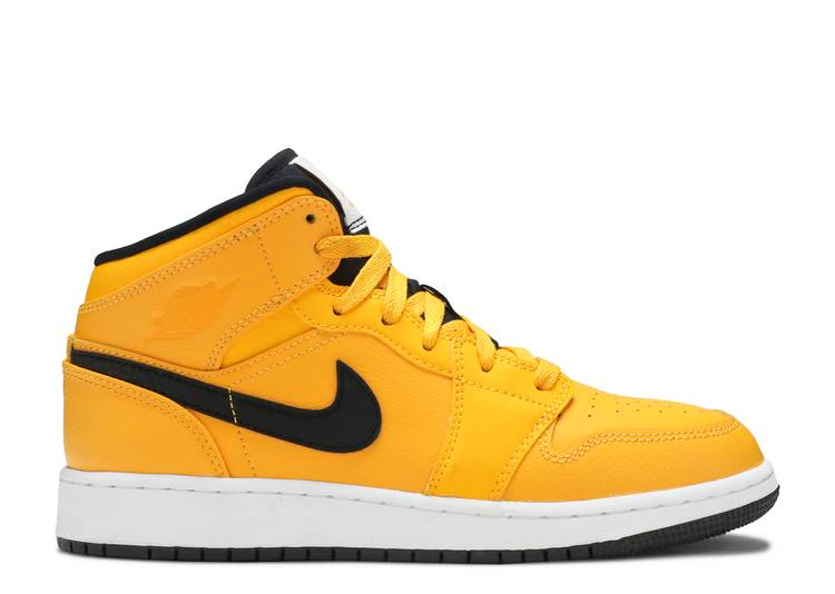 "air jordan 1 mid  ""Taxi Yellow"""