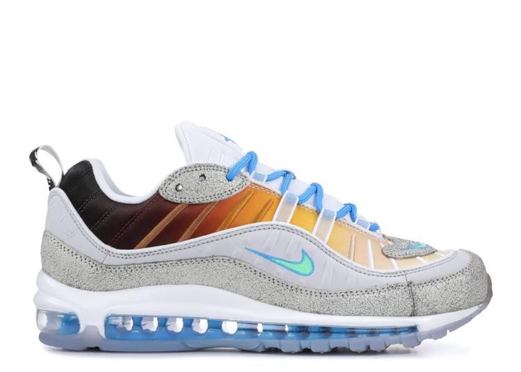 Air Max 98 On Air Nyc La Mezcla Nike Ci1502 001 Vast Grey