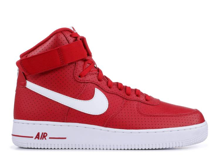 Air Force 1 High Gym Red Perforated Nike 315121 606 Gym