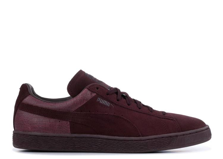 Suede Classic Casual Emboss