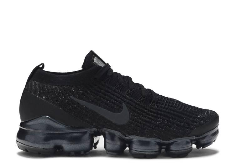 """Nike Wmns Air VaporMax Flyknit 3 """"Triple Black"""" """"Triple Black"""""""