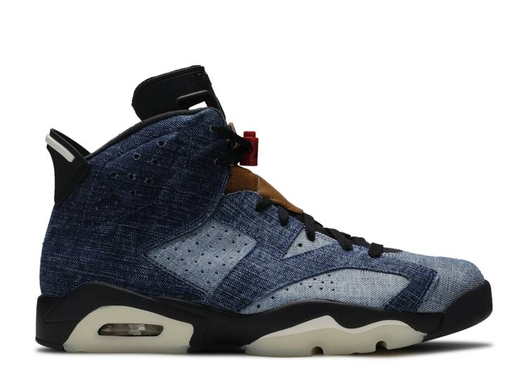 Air Jordan 6 Retro 'Washed Denim'