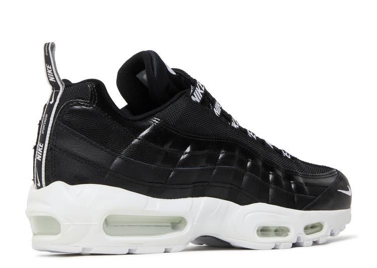 Air Max 95 Premium 'Overbranded' - Nike - 538416 020 - black/white ...