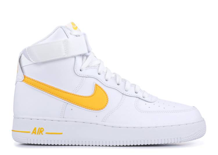 Air Force 1 High '07 'White University Gold'