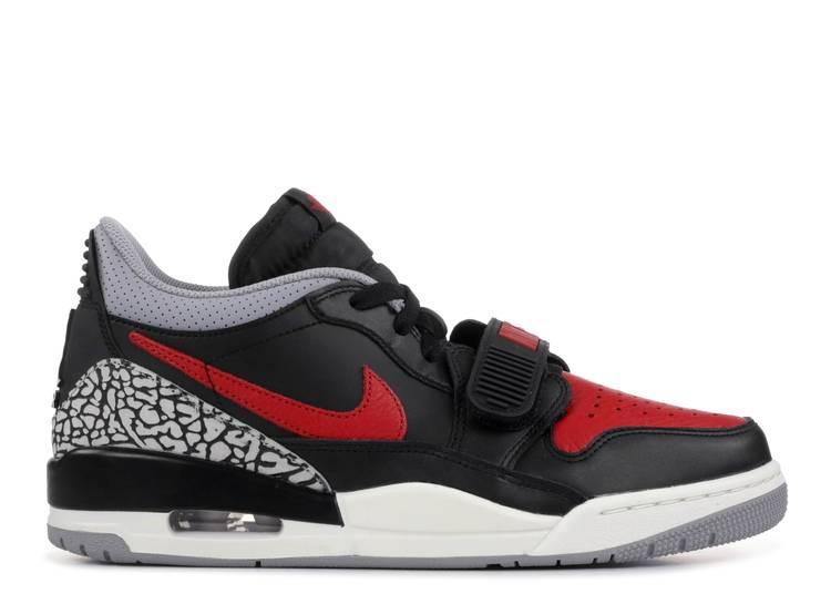 problema digerir excusa  Jordan Legacy 312 Low 'Bred Cement' - Air Jordan - CD7069 006 -  black/black-cement grey-gym red | Flight Club