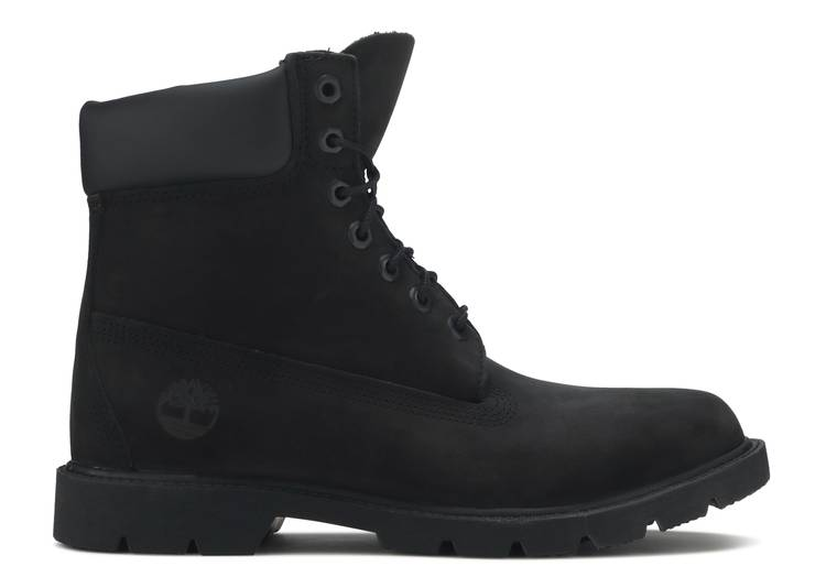 6 Inch Classic Waterproof Boot Wide 'Black Nubuck'