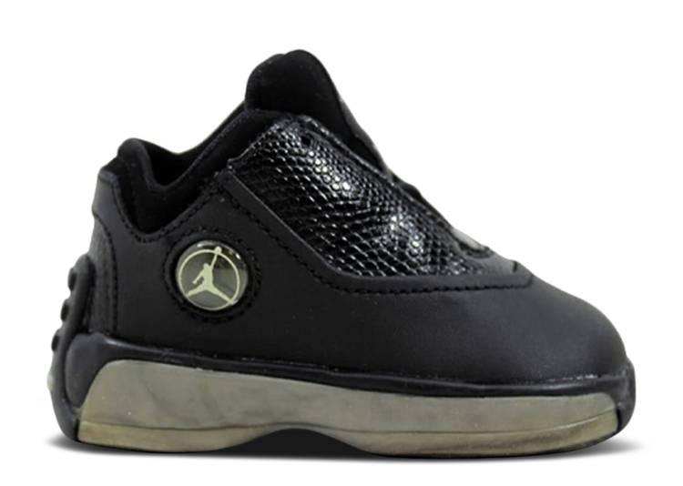 "Air Jordan 18 OG Low TD ""Black Metallic Silver"""