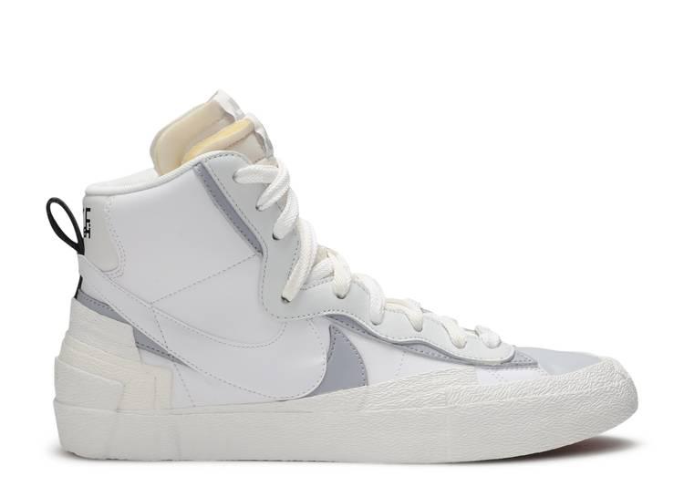 Sacai x Blazer Mid 'White Grey'