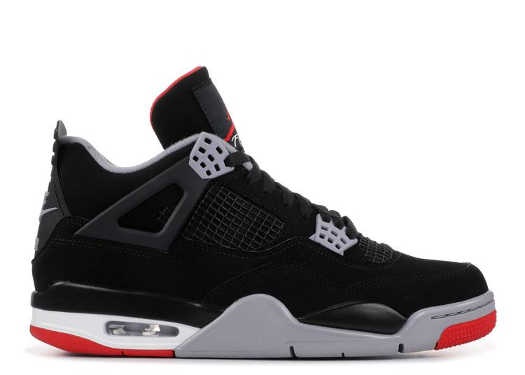 "air jordan 4 retro ""bred 2019 release"""