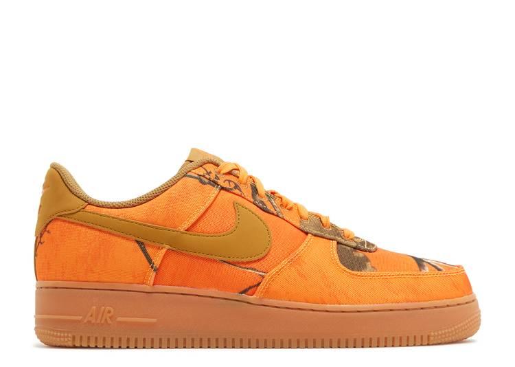 Realtree x Air Force 1 Low 'Orange Camo'