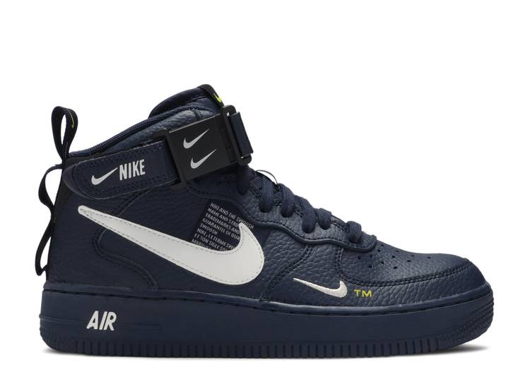 """Air Force 1 Mid LV8 GS  """"Overbranding"""""""