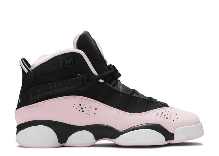 Jordan 6 Rings GS 'Black Pink Foam'