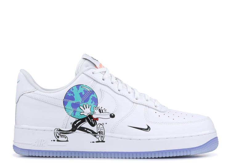 """air force 1 low flyleather qs """"Earth Day"""""""