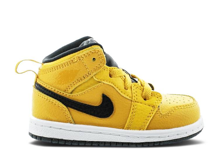 Air Jordan 1 Mid TD 'University Gold'