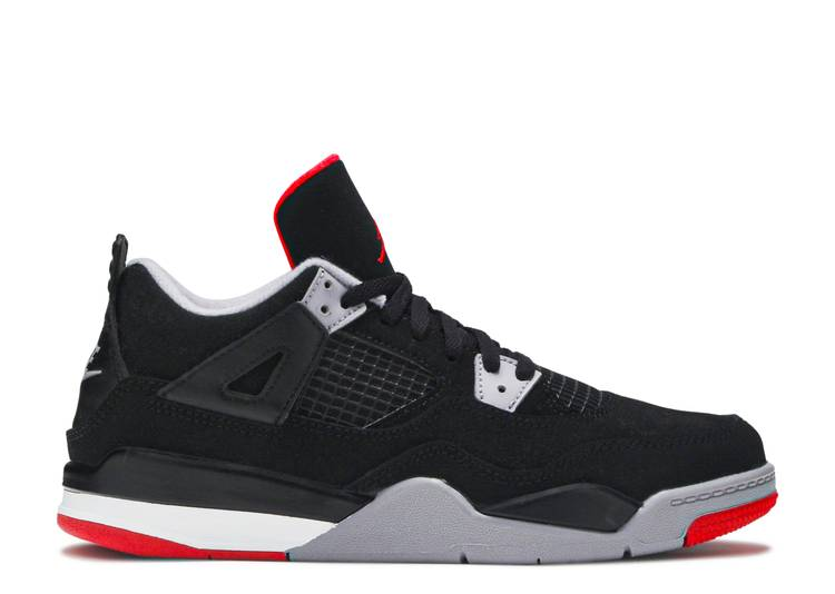 Air Jordan 4 Retro OG PS 'Bred' 2019