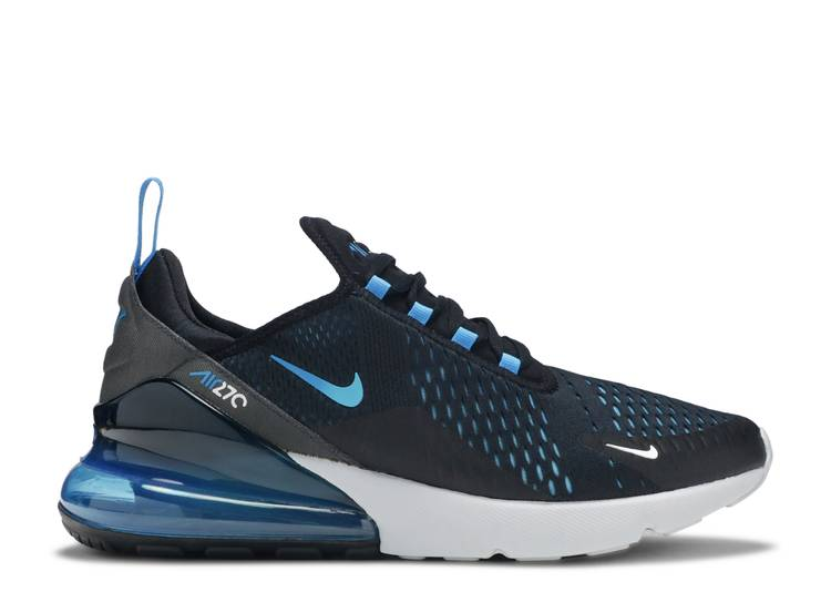 ingresos Escrupuloso Converger  Air Max 270 'Blue Fury' - Nike - AH8050 019 - black/photo blue-blue  fury-pure platinum-anthracite-white | Flight Club