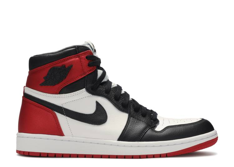 "wmns air jordan 1high og ""satin black toe"""
