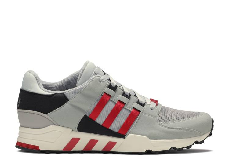 EQT Running Support 93 'Black White Scarlet Red'