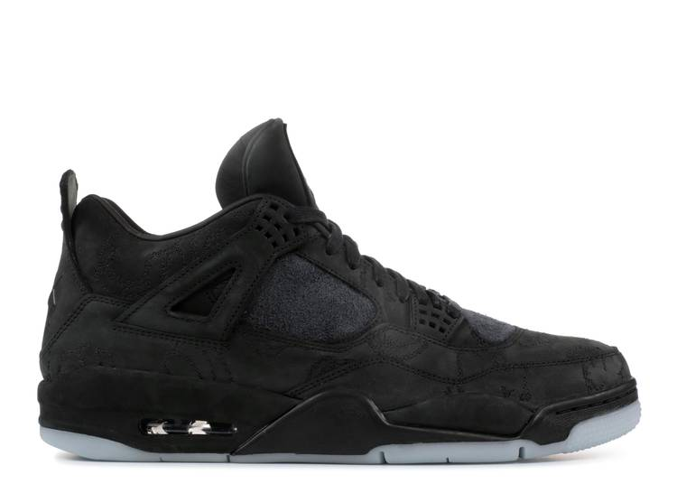 KAWS x Air Jordan 4 Retro 'Black'