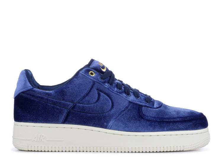 Air Force 1 Low '07 Premium 'Blue Velour'
