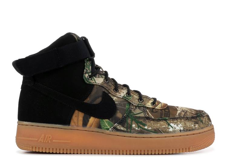 Realtree x Air Force 1 High 'Brown Camo'
