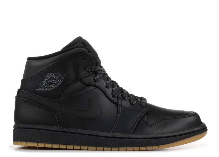 Air Jordan 1 Mid Winterized 'Black Gum'