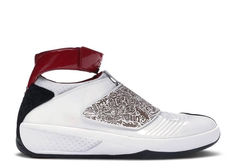 Air Jordan 20 OG 'White Varsity Red' B-Grade