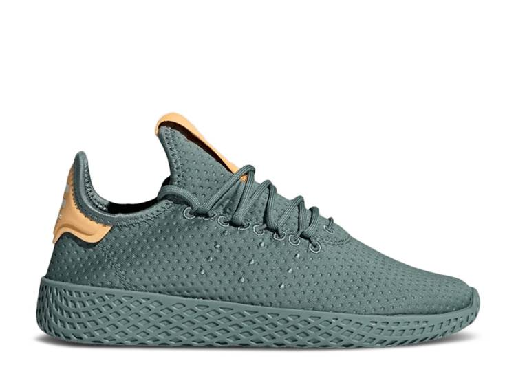 Pharrell x Tennis Hu J 'Raw Green'