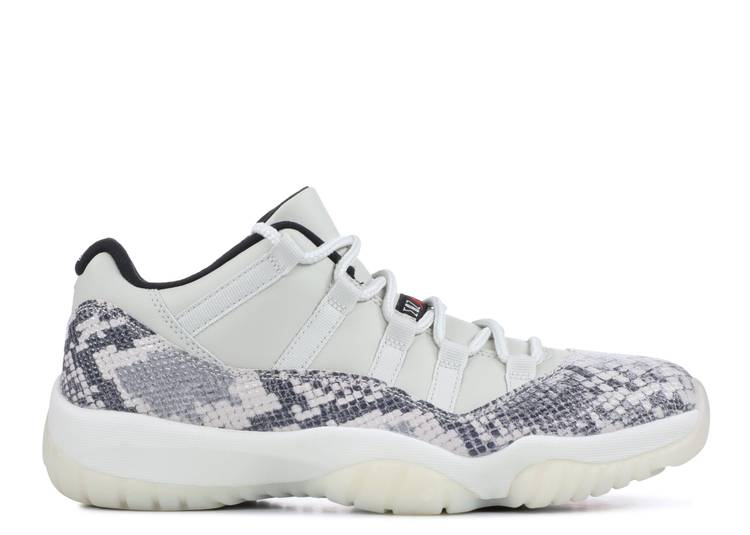 Air Jordan 11 Retro Low 'Light Bone Snakeskin'