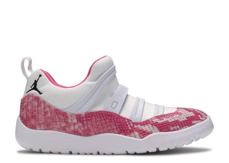 "Air Jordan 11 Retro Little Flex PS 'Pink Snakeskin' ""Pink Snakeskin"""
