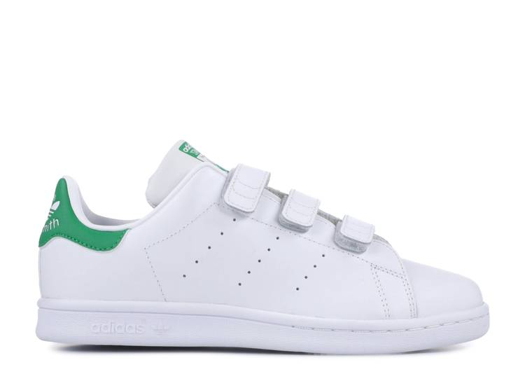 Stan Smith CF Velcro PS 'White Green'
