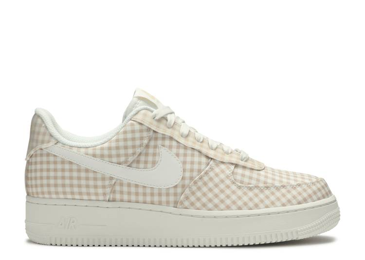 """Wmns Air Force 1 Low QS """"Gingham Pack - Beige"""""""