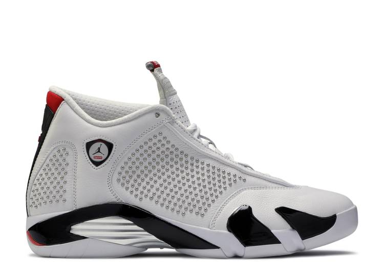 Supreme x Air Jordan 14 Retro 'White'